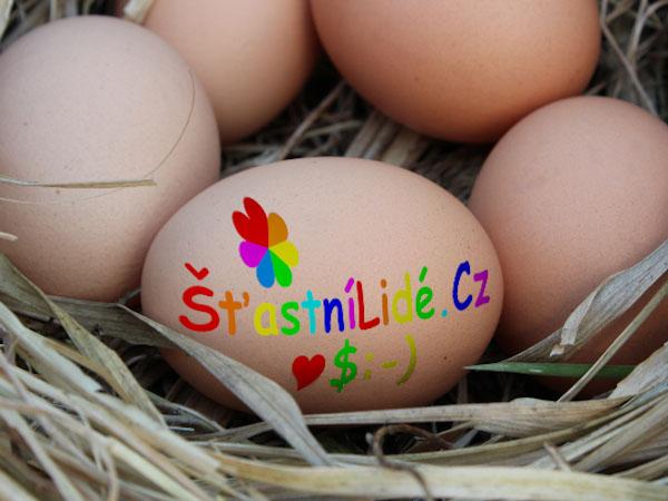 Šťastní lidé - vajíčko