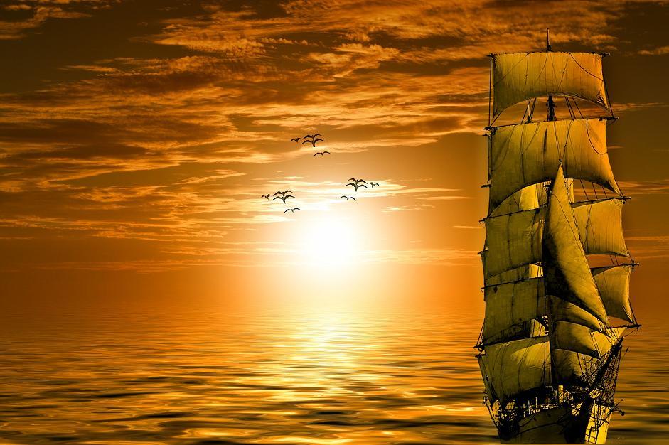 cesta loď