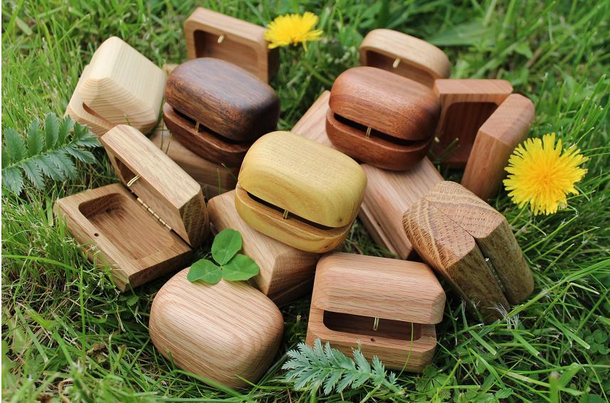 Šperkovnice dřevěná
