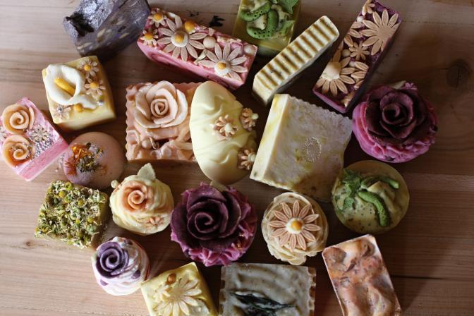 Přírodní mýdla