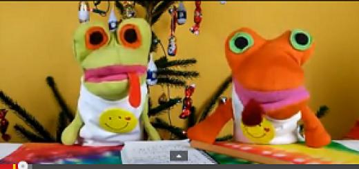 Novoroční projev Šťastných žab