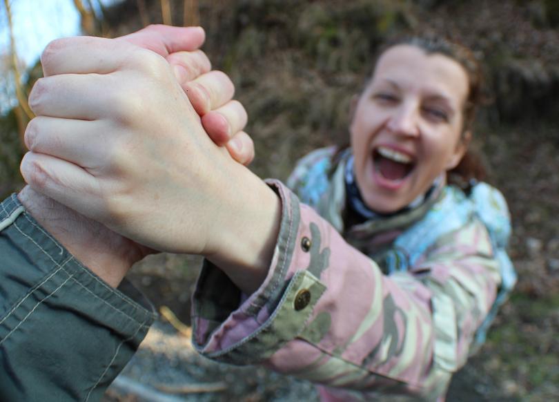 Podej mi ruku