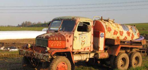 Pomalované auto