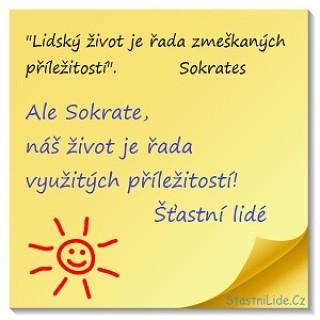 Sokrates a Šťastní lidé-titulka