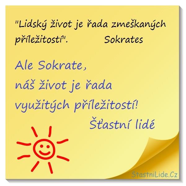 Sokrates a Šťastní lidé