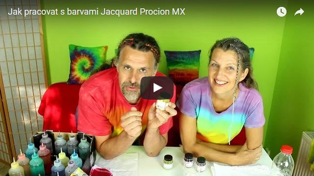 • Jak pracovat s barvami Jacquard Procion MX