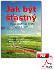 eBook Jak být šťastný - 7 zásad šťastného života - obálka pdf