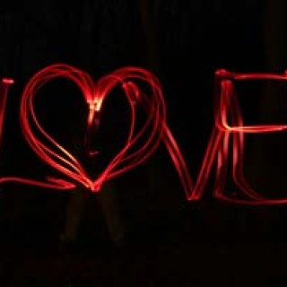 Láska a světlo - love - srdíčko