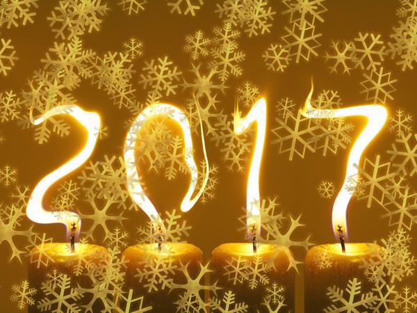 Šťastný rok 2017 přejí šťastní lidé