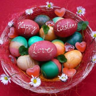 Velikonoce 2014 Happy Easter Love - šťastní lidé.cz