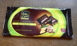Čokoláda se zázvorem