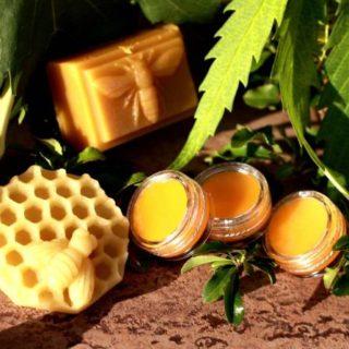 Medové mýdlo včelí vosk