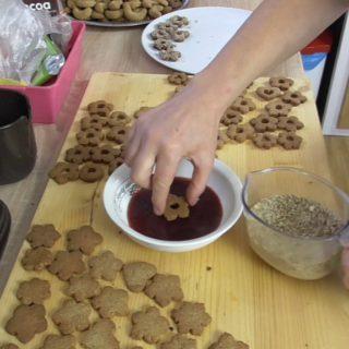 Vánoční cukroví zdravé pečení krok za krokem
