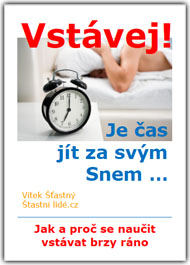 Vstávej! Je čas jít za svým Snem - obálka