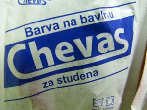Barva na batikování Chevas