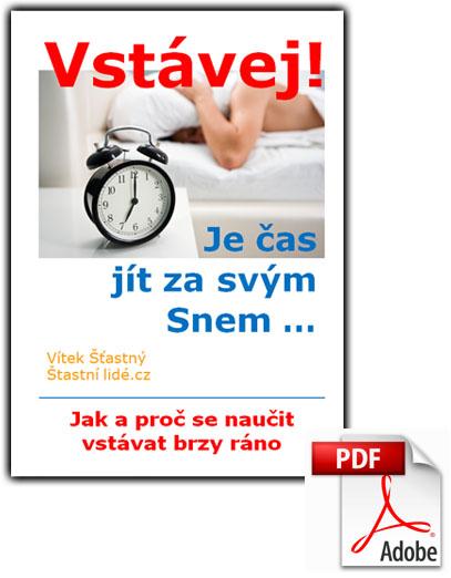 Obálka eBook pdf Vstávej! Je čas jít za svým Snem