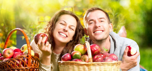 Láska - jablka