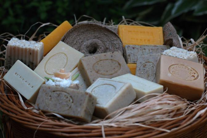 mýdla naturální