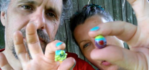 Skleněné perle - vinutky