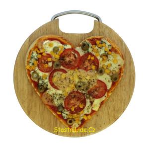 Valentýnská pizza Šťastnílidé.cz